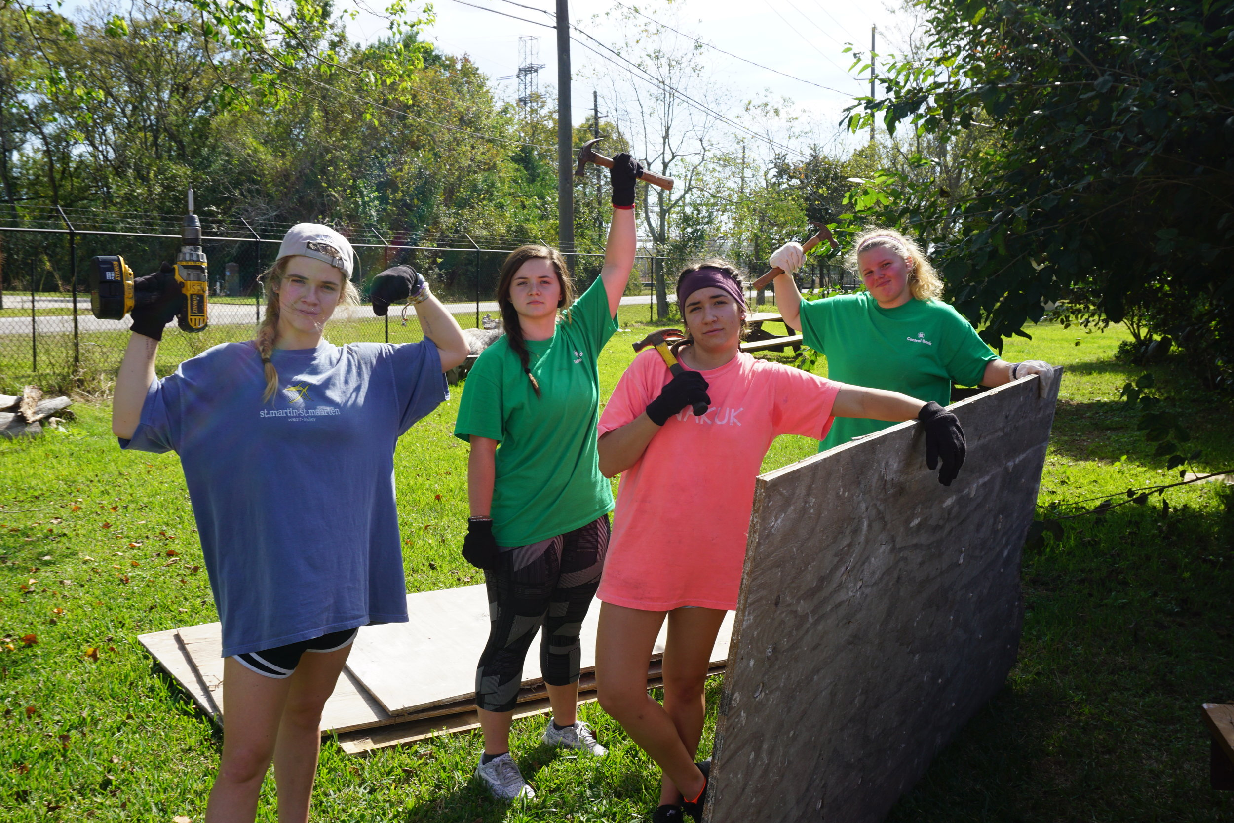 girl work crew