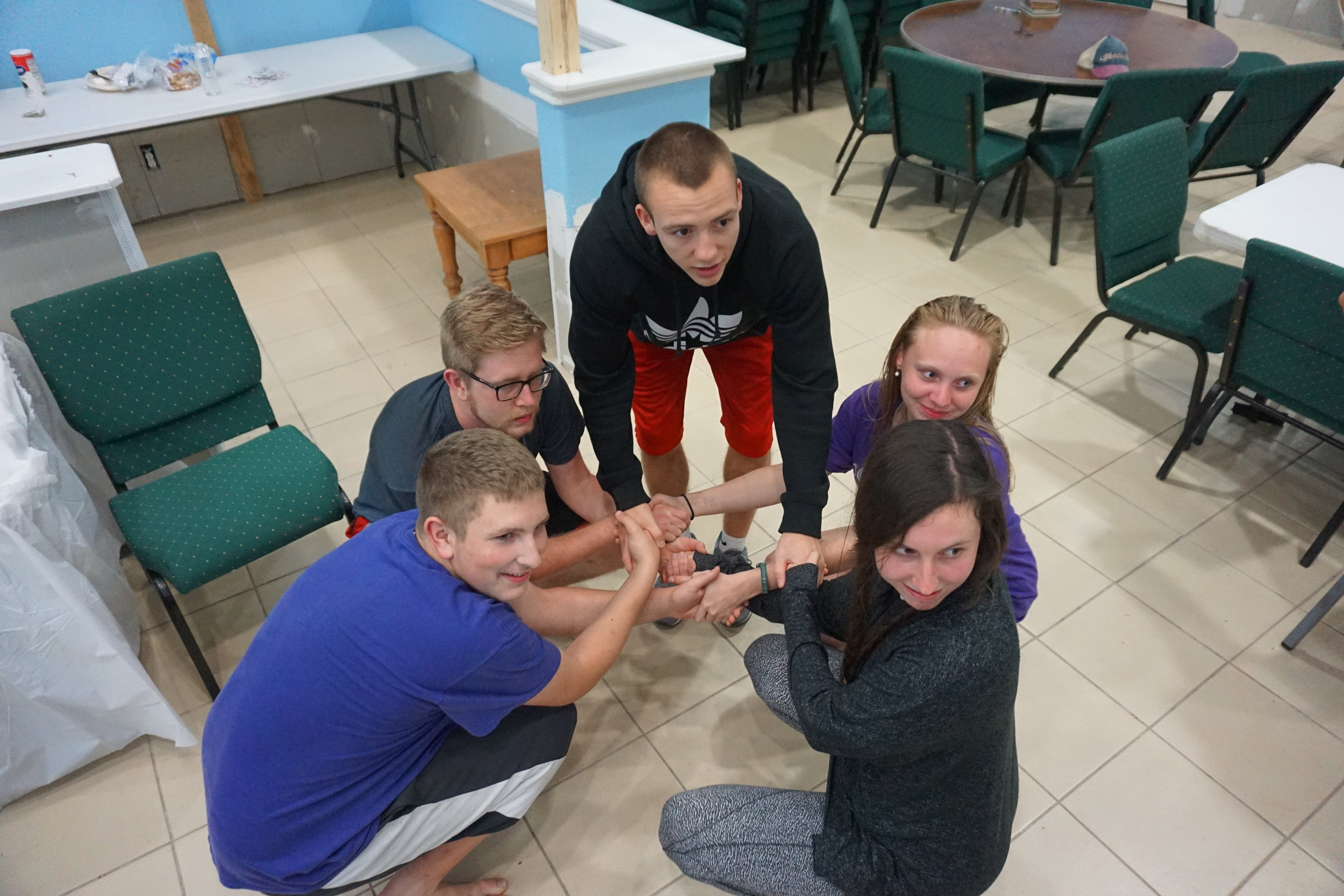 human knot game