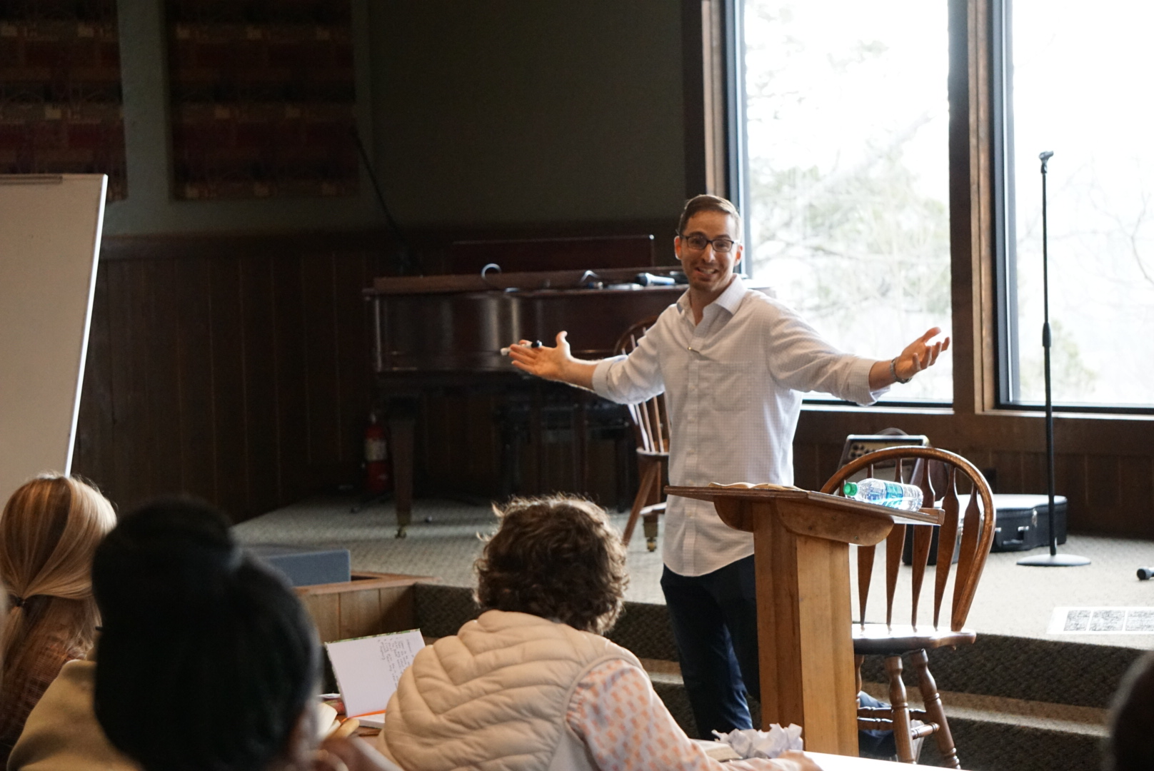 Mark Thompson teaching