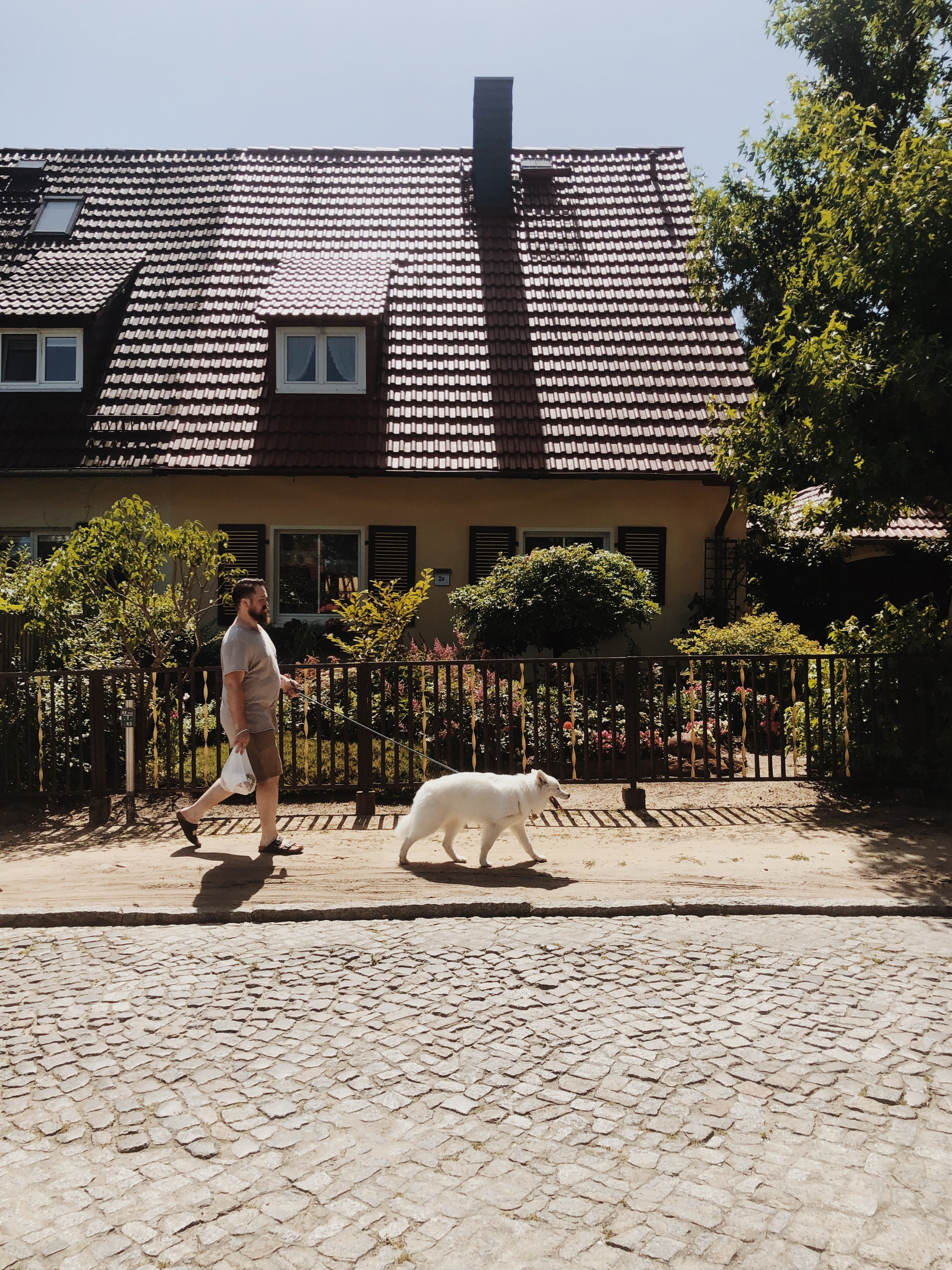 Indie's first official Berlin walk! -