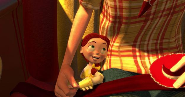 Jessie's montage. Toy Story 2, 1999.©Disney/Pixar.