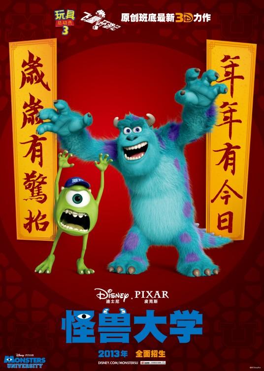 Monsters University, 2013.©Disney/Pixar.