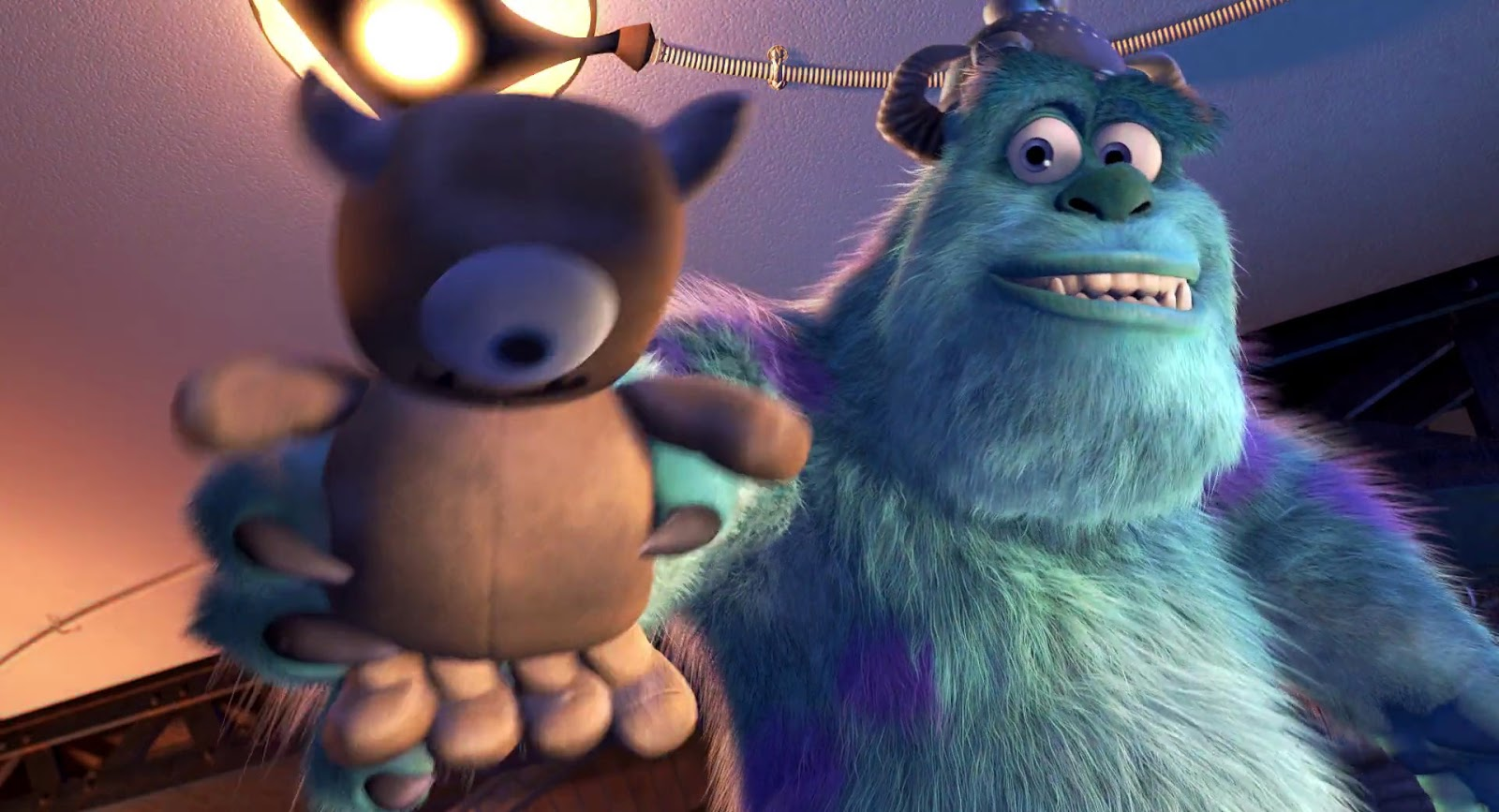 Sulley. Monsters Inc, 2001. ©Disney/Pixar.