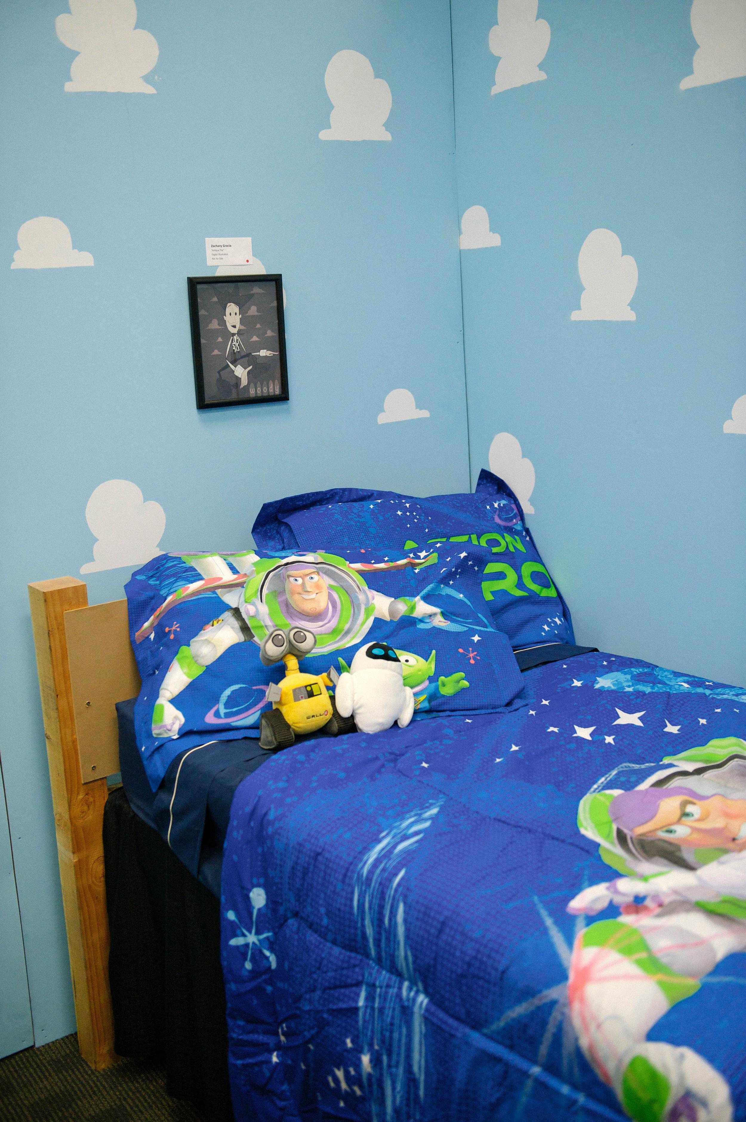 Andy's Room display. Photo by Lisa Diaz.