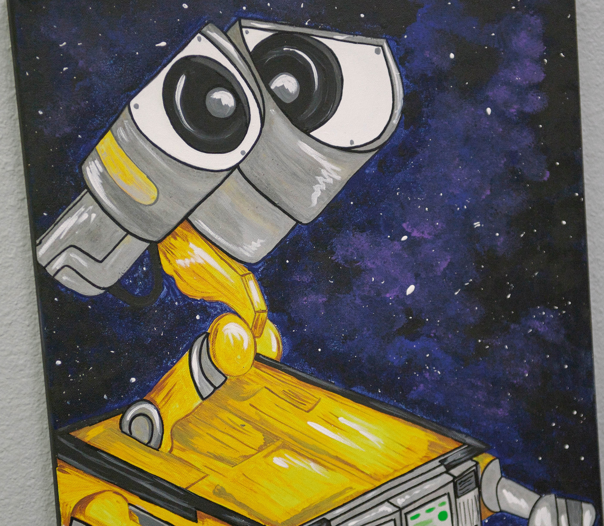 """Wall-E"" by Allison Jones. Photo by Lisa Diaz."