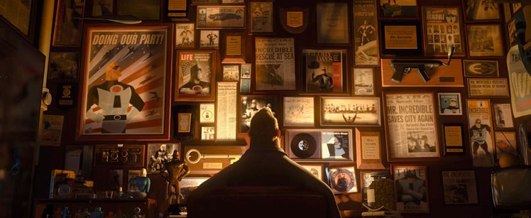 The Incredibles, 2004.©Disney/Pixar.