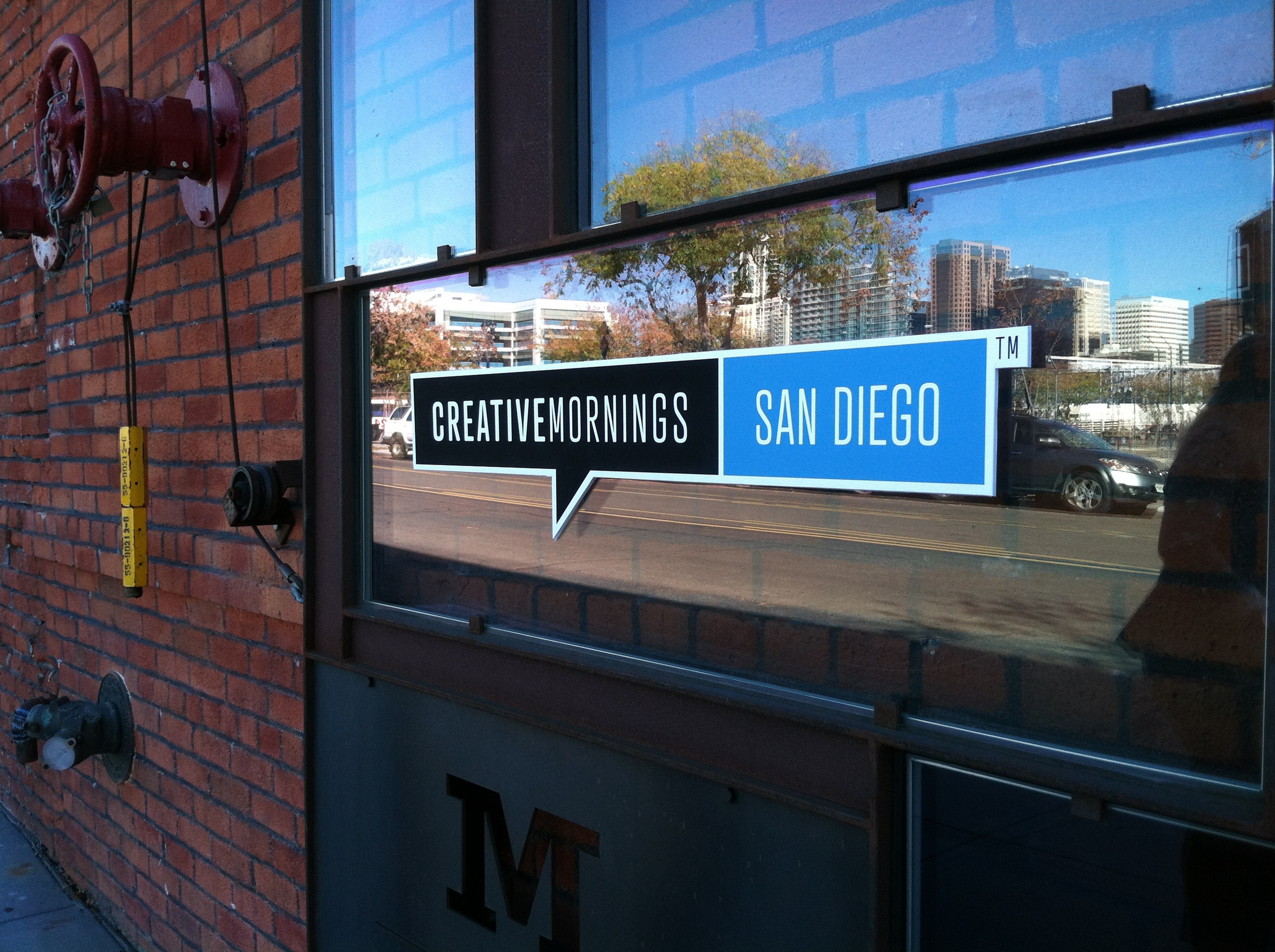 CreativeMornings SD at the Moniker Warehouse.