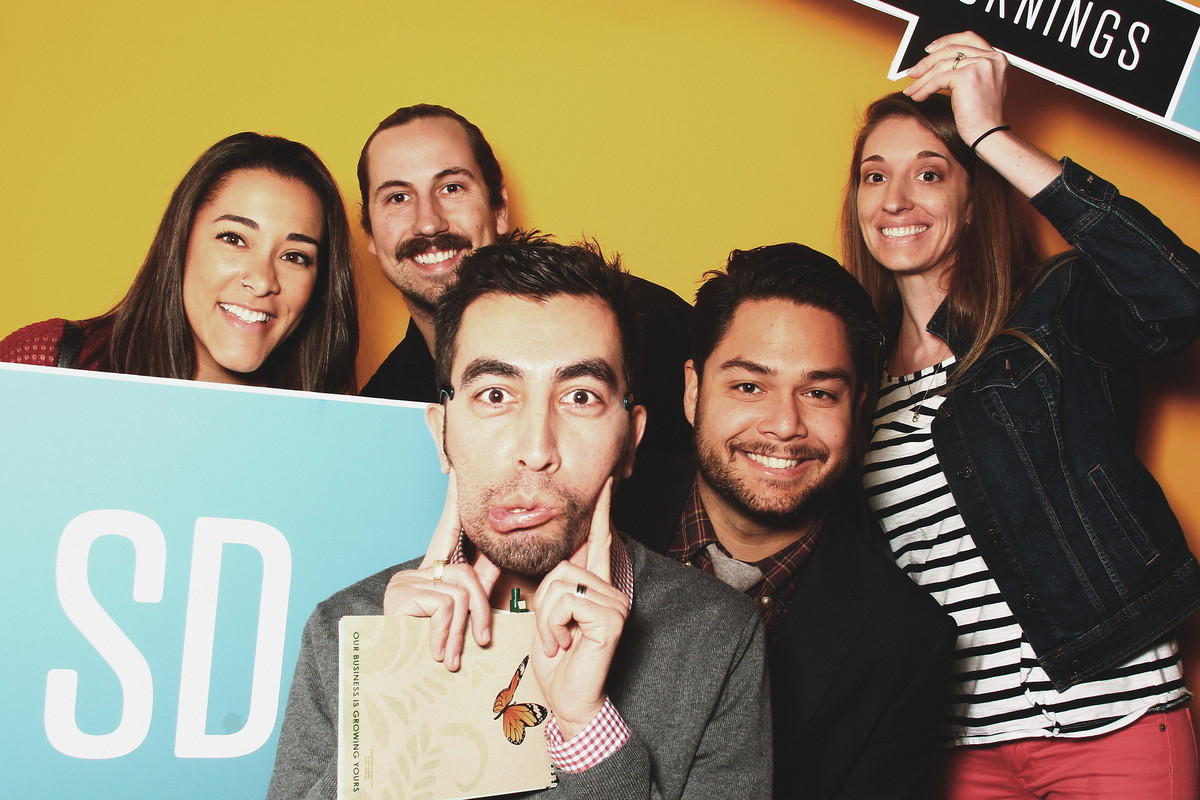 Photobooth fun with my creative friends.