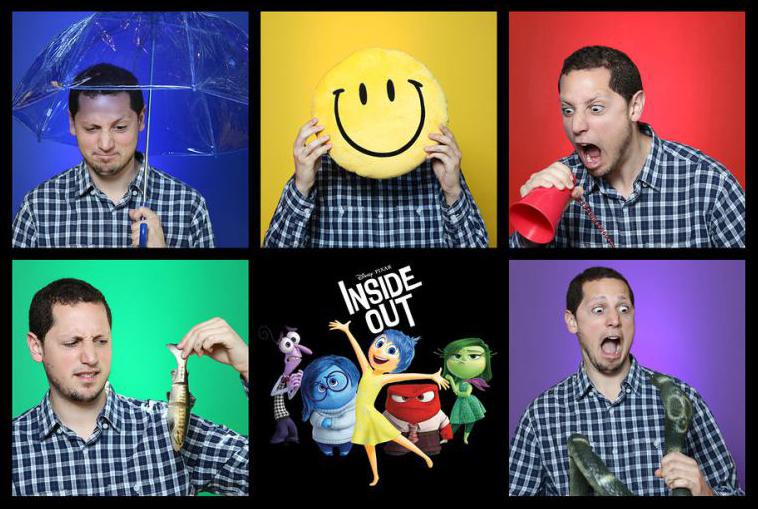 Pixar enthusiast, Jon Negroni at the #InsideOutPixarHQ Event.