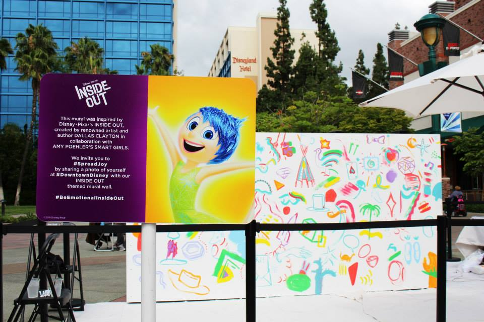 Pixar Spread Joy Downtown Disney