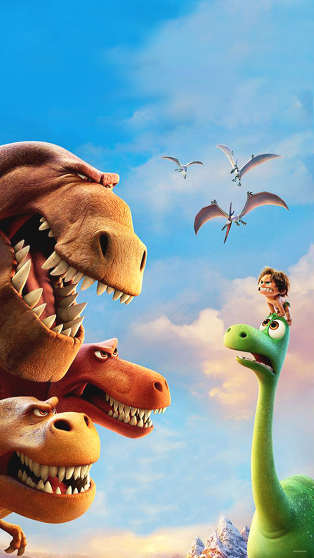 The Good Dinosaur Downloadable Wallpaper For Ios Android Phones For The Love Of Pixar
