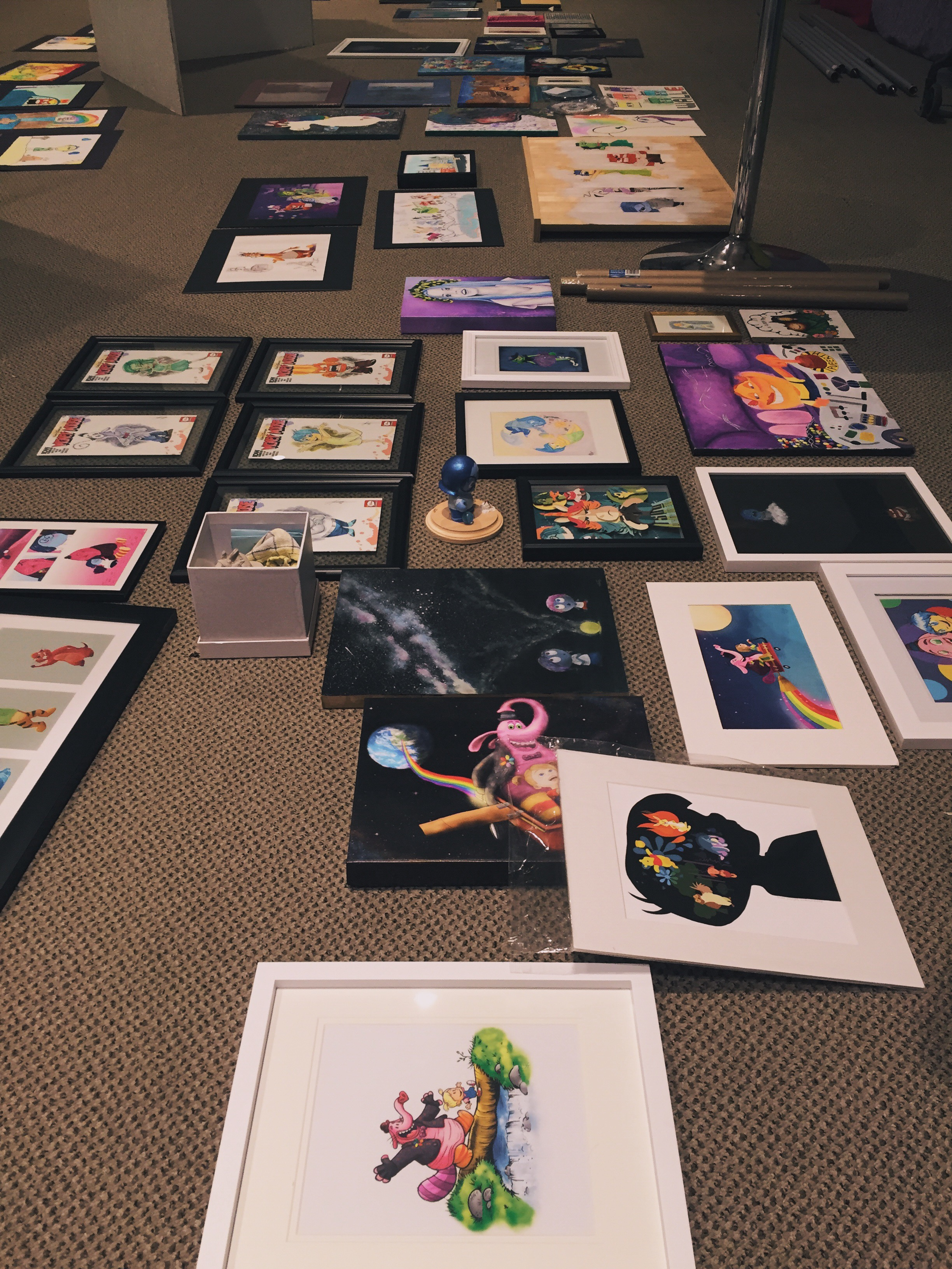 For the Love of Pixar Art Show Inside Out
