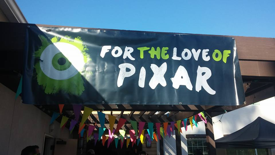 For the Love of Pixar Show Entrance.