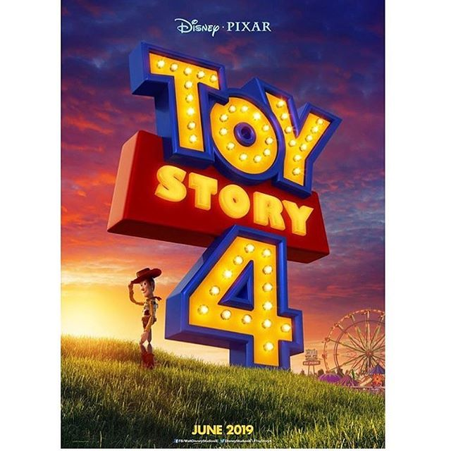 New international teaser poster for 'Toy Story 4' released into the wild today. Let that sink in for a bit... #toystory #toystory4 #pixar