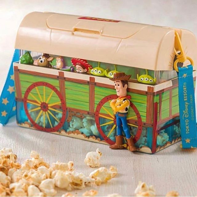 Apparently there is a new Toy Story Popcorn bucket hitting the Disney Parks soon. If you see it, would you mind getting those details to @toystorycar 😃 #toystory #toystory4 #popcornbucket #disneyland