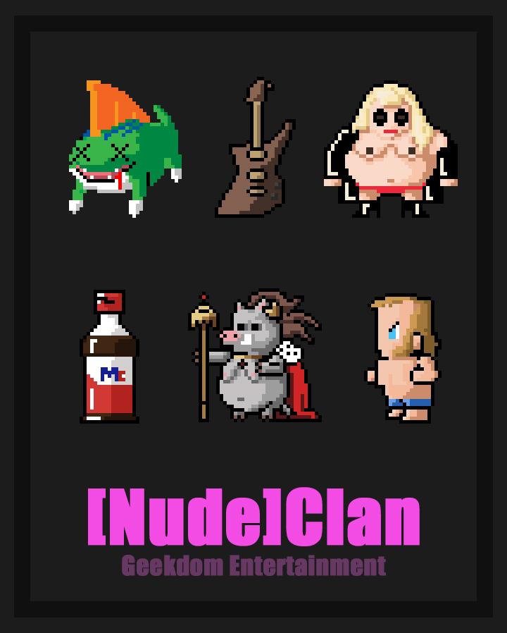 """[Nude]Clan: Pixel"" ©2018"