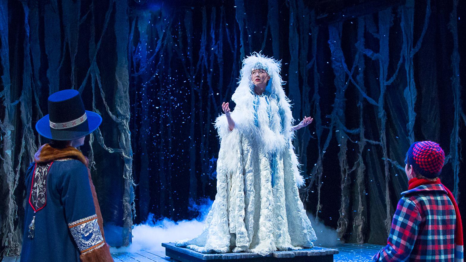 Emily Gardner Hall Snow Queen pelisande