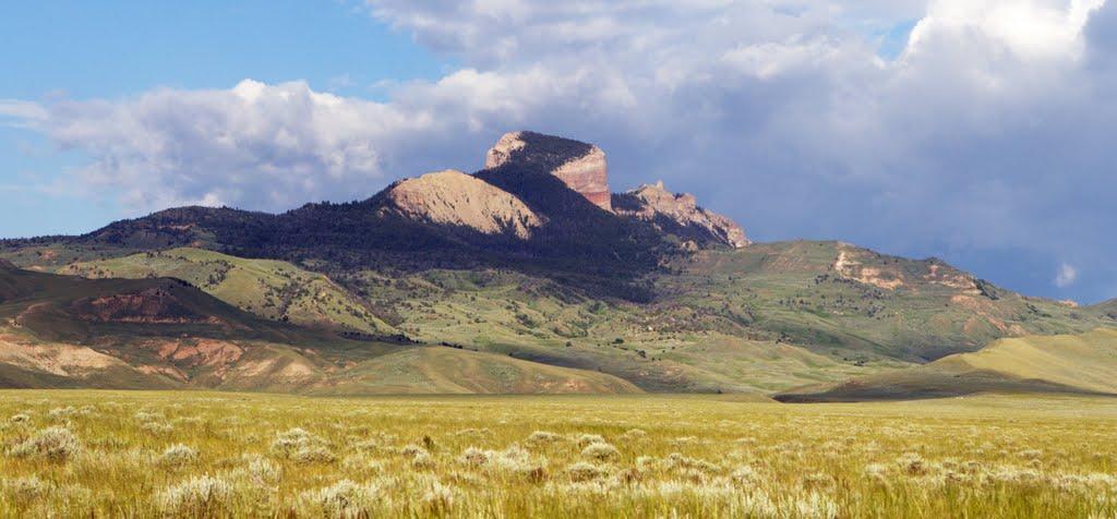 Heart Mountain, Wyoming.
