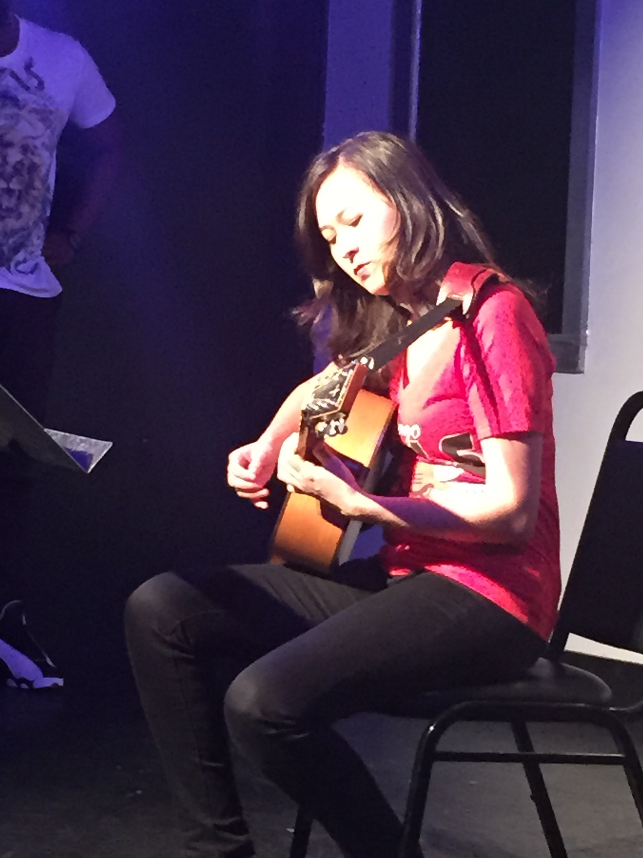 Emily Gardner Hall guitar