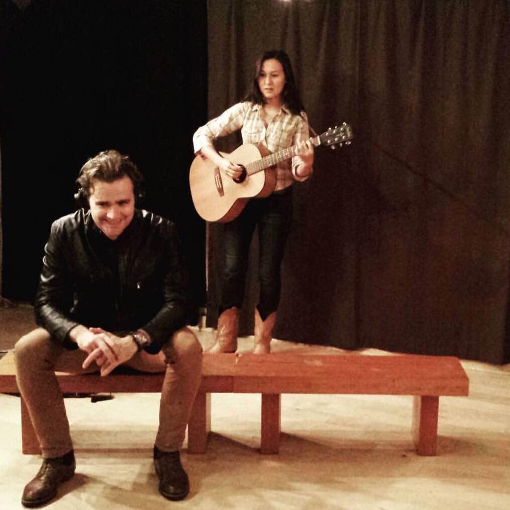 "Paul Sheehan and Emily Gardner Hall in ""Long May You Run"""