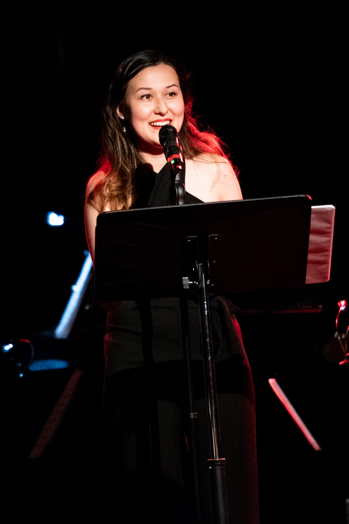 Performing at NYMF Concert