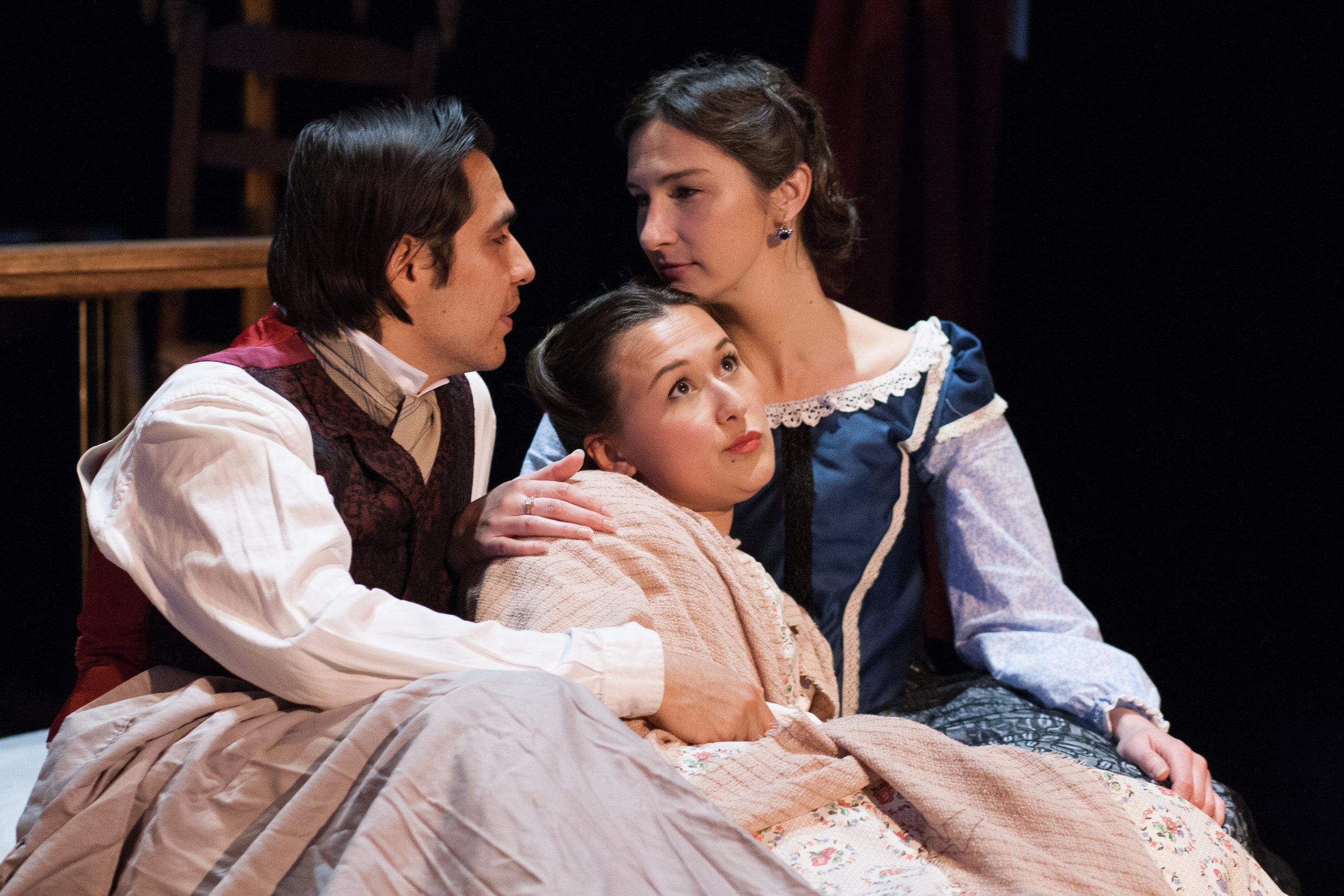 The Lohmans (Jose-Maria Aguila, Emily Gardner Xu Hall and Jessica O'Hara-Baker)