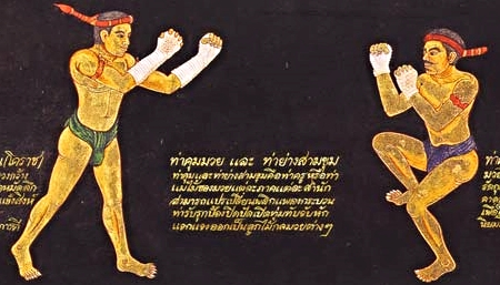 Thai text that helped teach Muay Boran so peasants could fight, weaponless, against the Burmese.