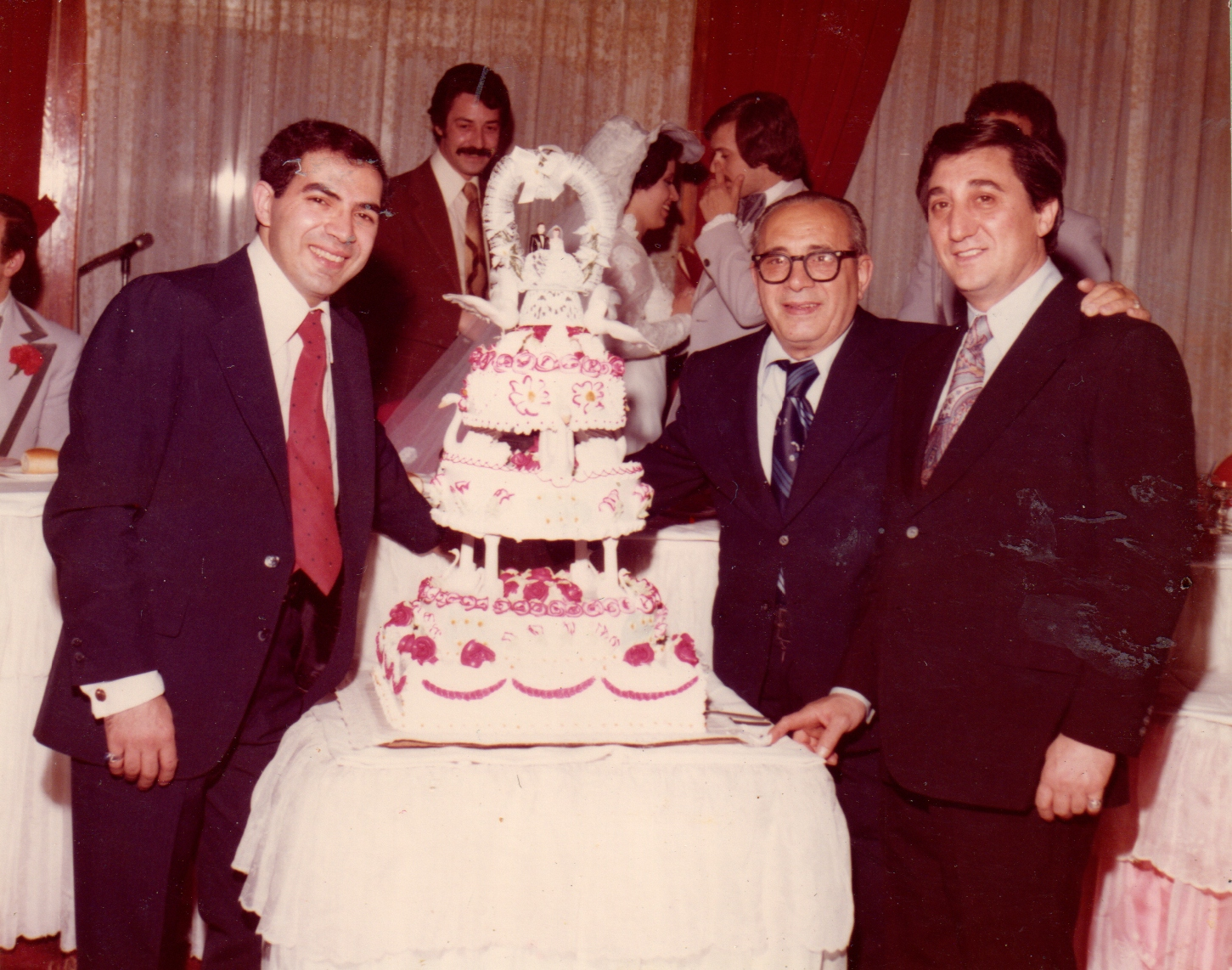 Sal, Dom & Phil at a Wedding in 1974.jpg