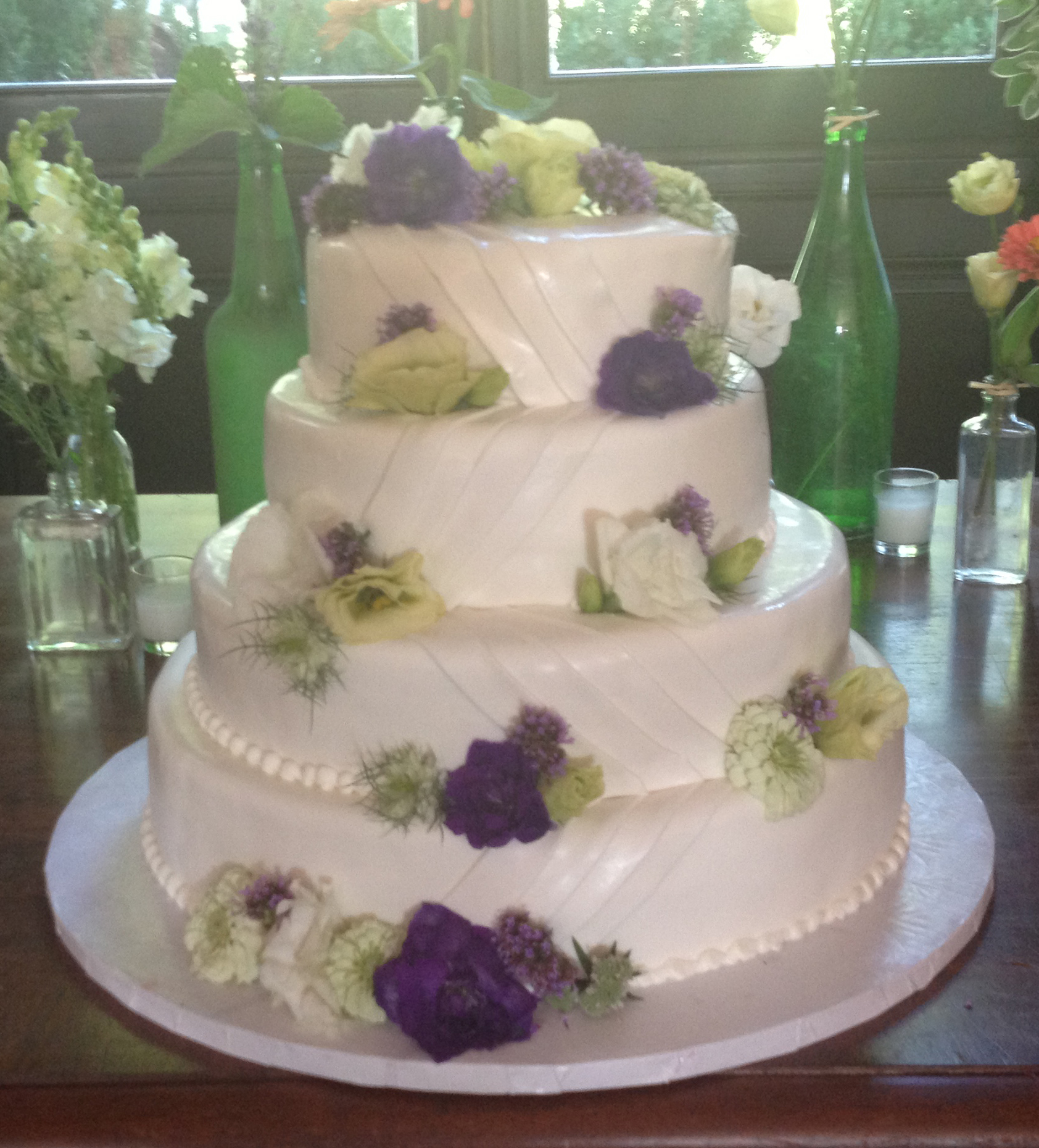Rolled Fondant with Pleated Drapes