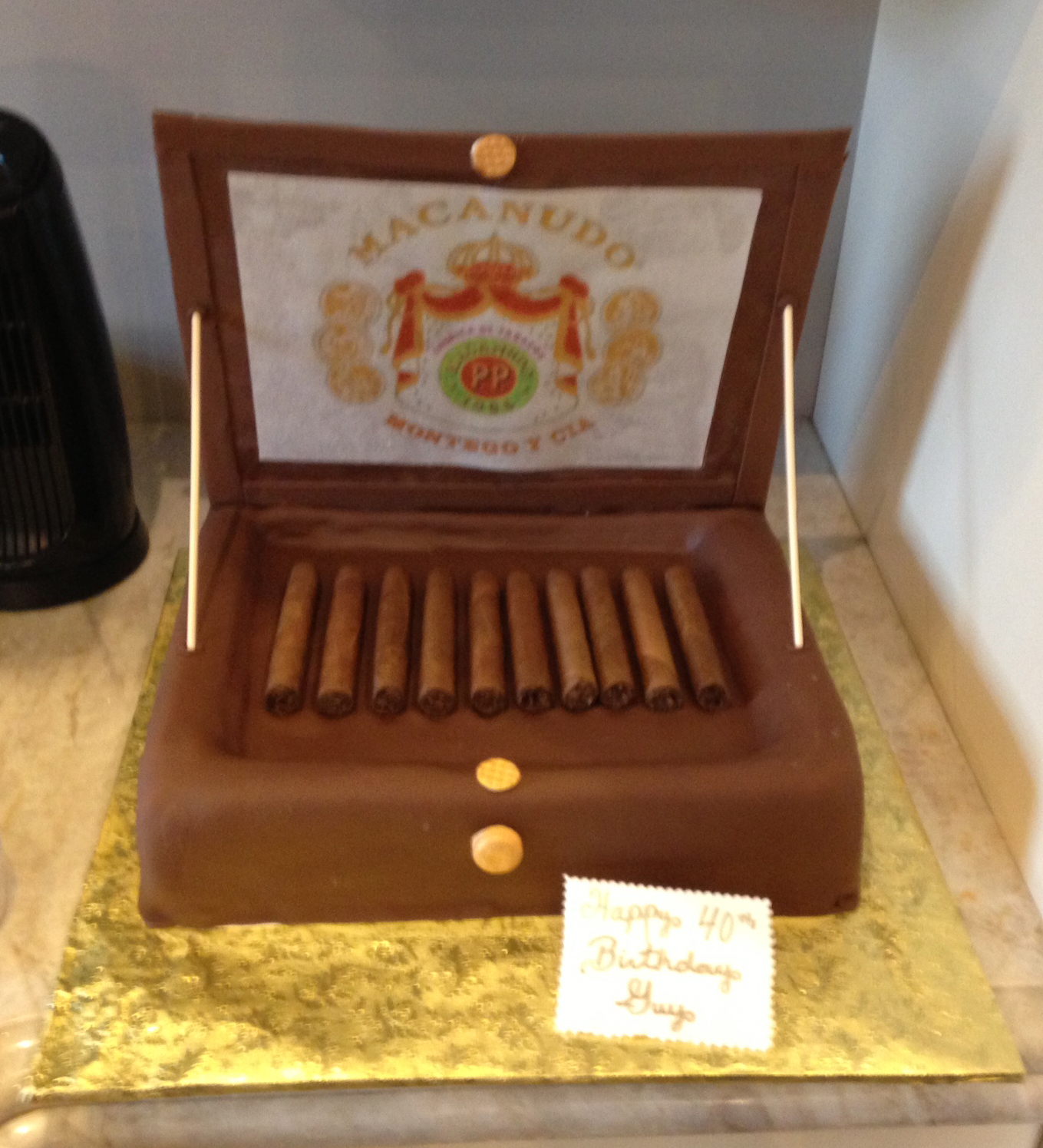 Cigar Box with Open Lid.JPG