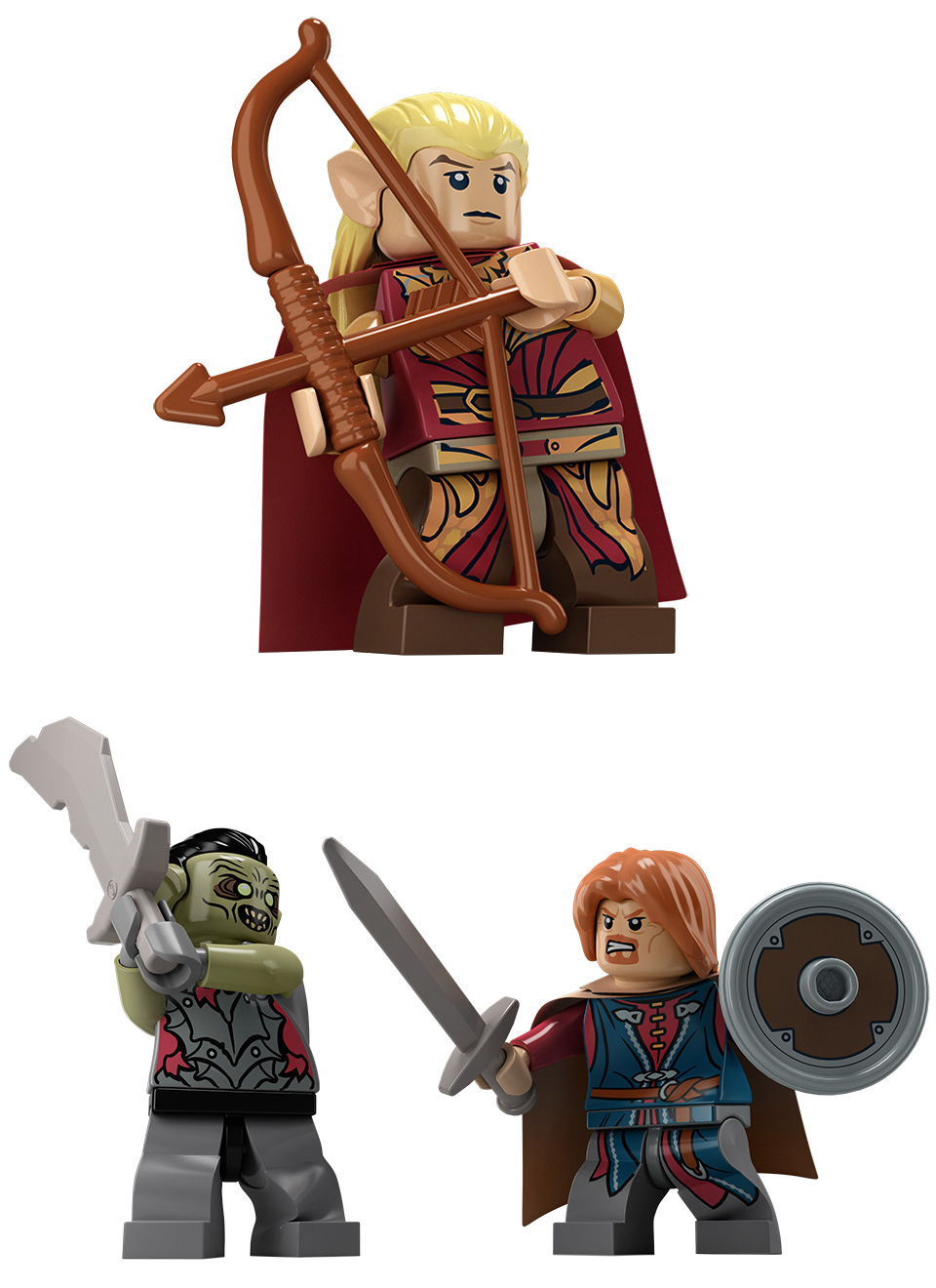 LEGO LotR Product Renders