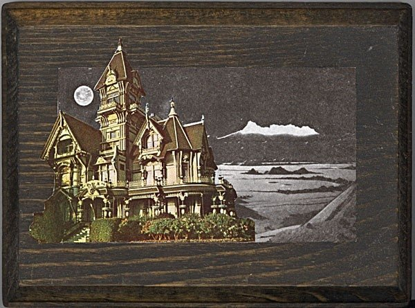 Antonio's House (Physical Collage - 2007)