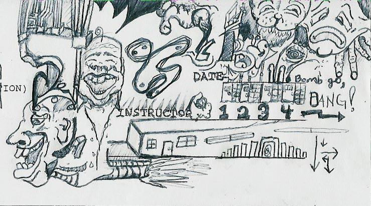 The Doodle Blues (Drawing - Date Unknown)