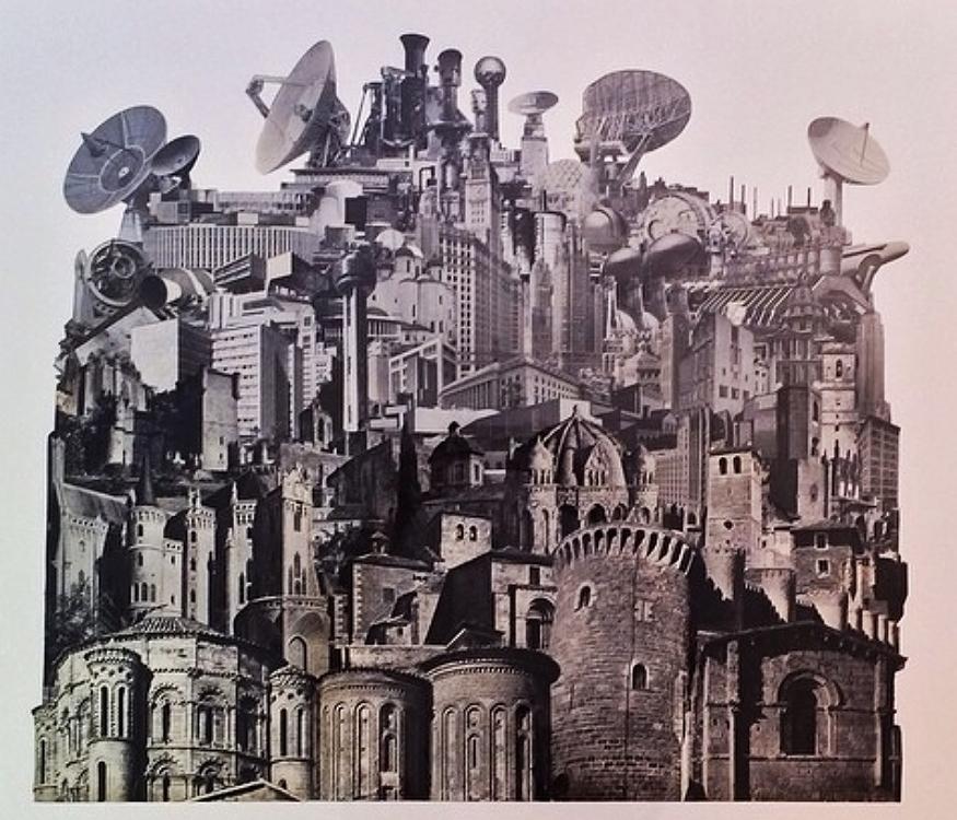 Morgopolis (Physical Collage - 2014)
