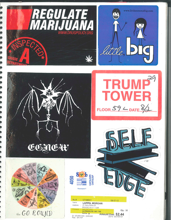 Page #28- Sticker Collection