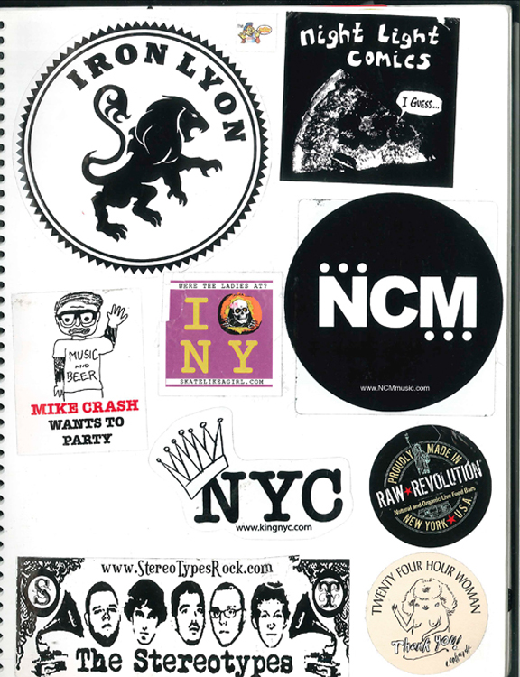Page #32- Sticker Collection