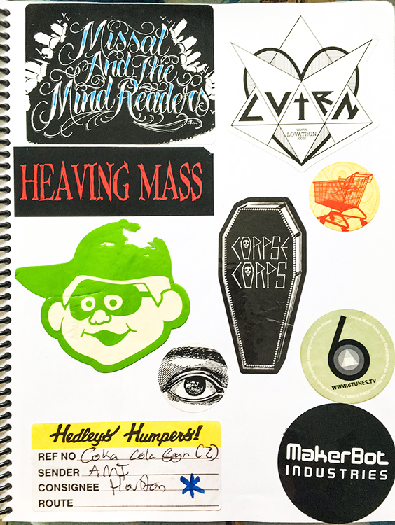 Page #58 - Sticker Collection