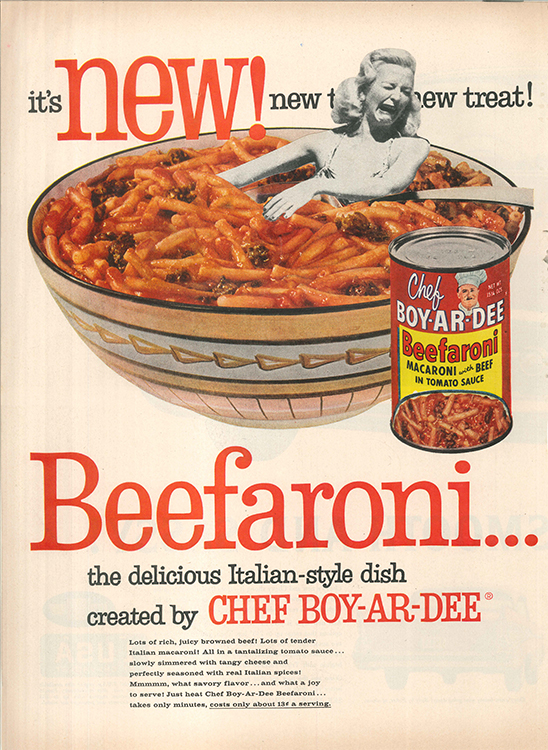 Beefaroni Dreams (Physical Collage - 2015)