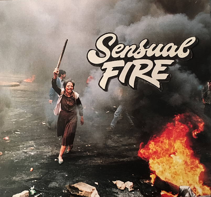 Sensual Fire (Analog Collage - 2016)