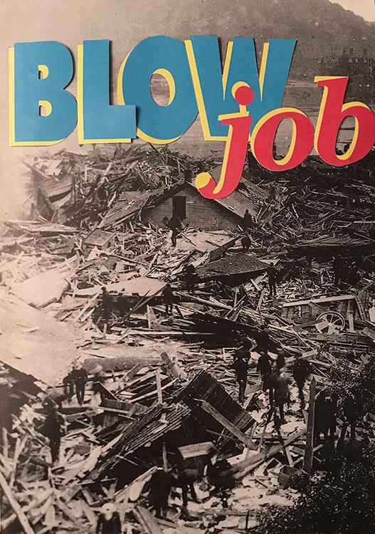 Blow Job: Variation #2 (Analog Collage - 2016)