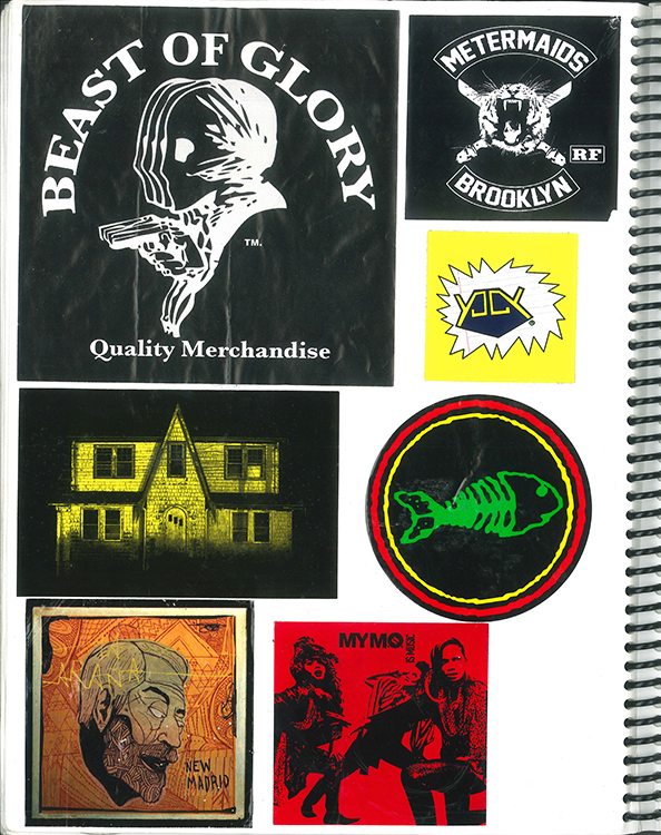 Page #63 - Sticker Collection