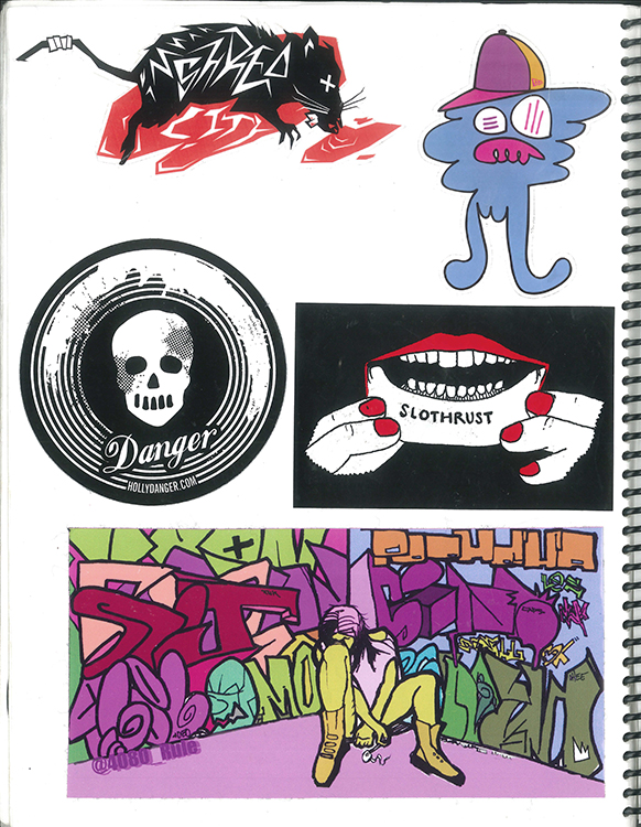Page #72 - Sticker Collection