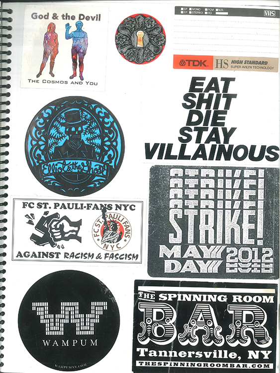 Page #76 - Sticker Collection