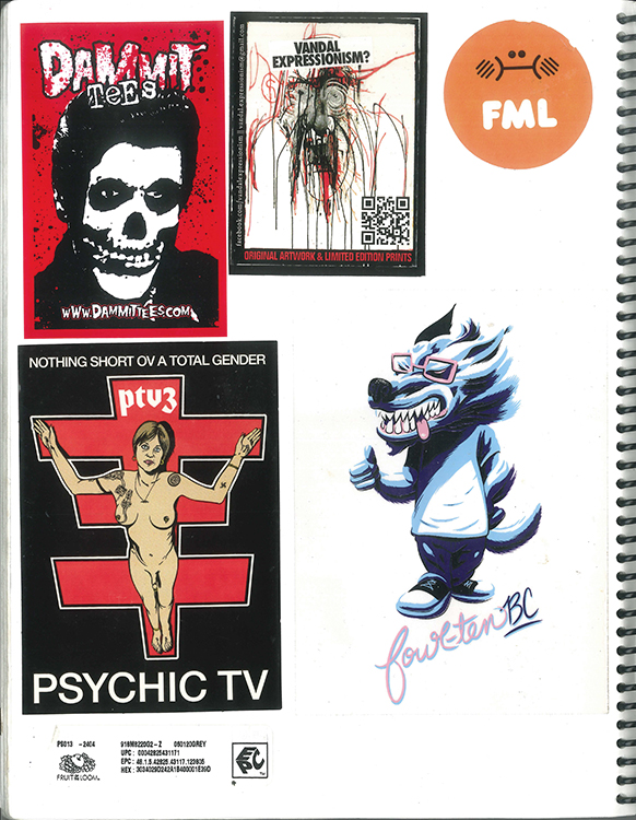 Page #77 - Sticker Collection