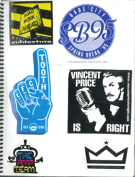 Page #80 - Sticker Collection