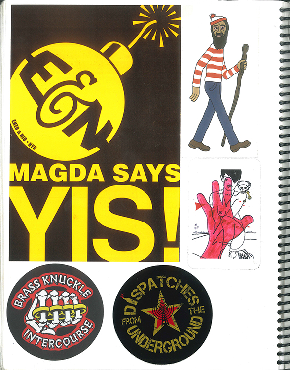 Page #65 - Sticker Collection (Morgan Jesse Lappin)