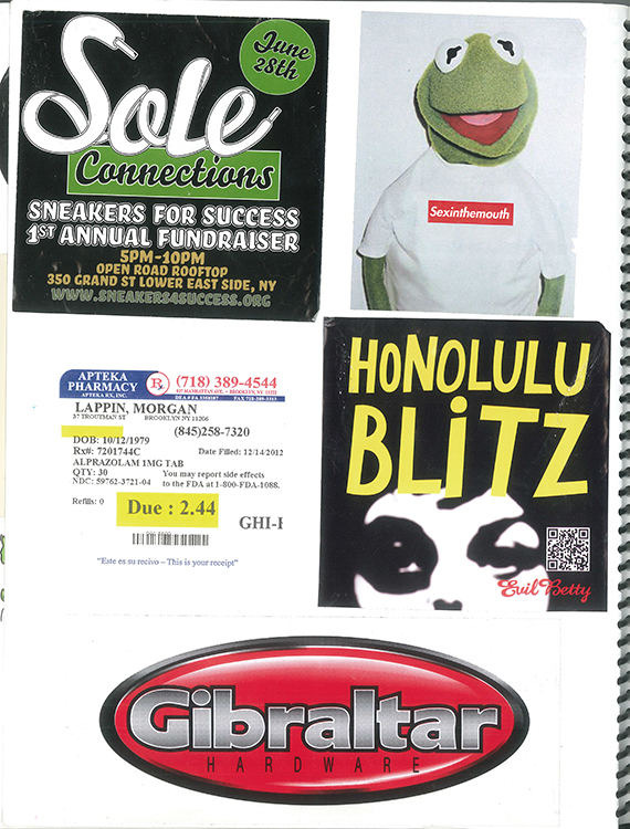 Page #83 - Sticker Collection