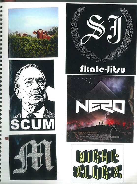 Page #86 - Sticker Collection
