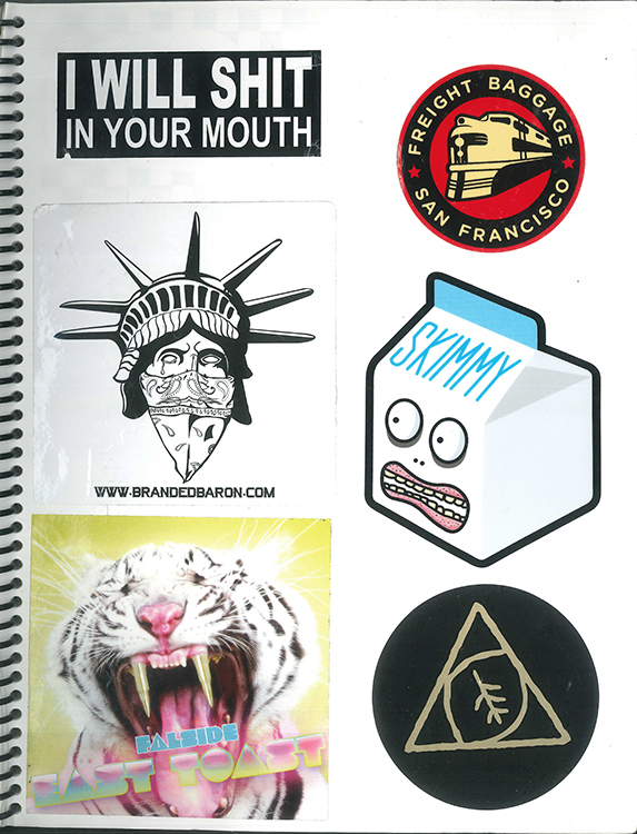 Page #88 - Sticker Collection