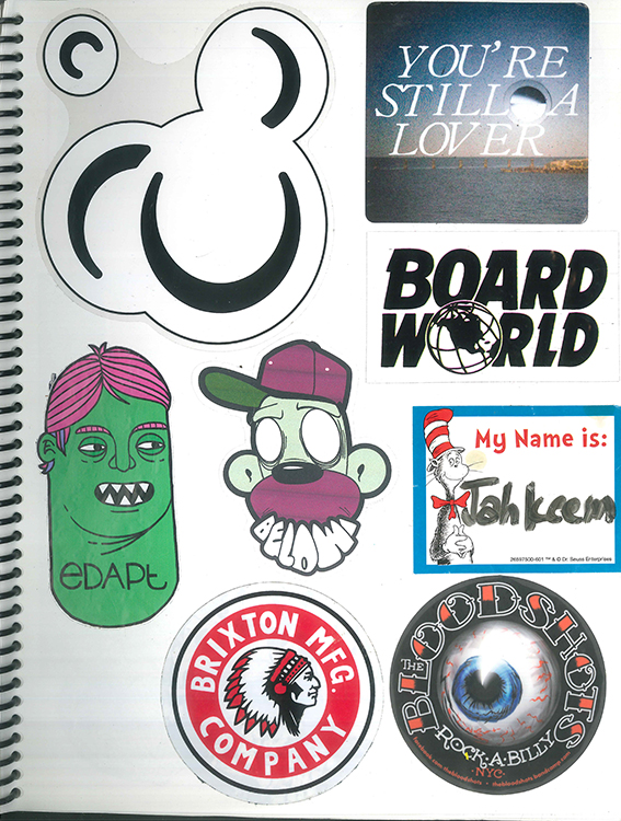 Page #92 - Sticker Collection